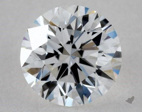 0.74 Carat D-IF Very Good Cut Round Diamond
