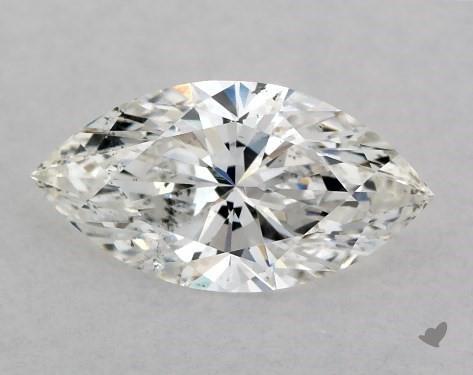 <b>0.50</b> Carat G-SI1 Marquise Cut Diamond