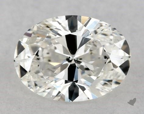 <b>0.41</b> Carat G-VS2 Oval Cut Diamond