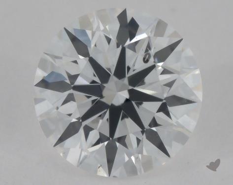 0.50 Carat E-SI1 Excellent Cut Round Diamond