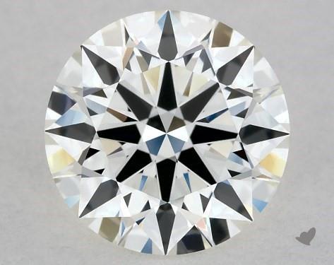 1.00 Carat I-VVS1 True Hearts<sup>TM</sup> Ideal Diamond