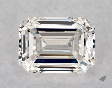 1.03 Carat H-VVS2 Emerald Cut Diamond