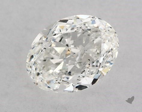 1.07 Carat G-SI1 Oval Cut Diamond