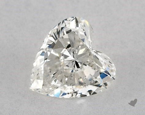 1.07 Carat H-SI1 Heart Shape Diamond