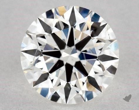 1.04 Carat H-SI1 True Hearts<sup>TM</sup> Ideal Diamond