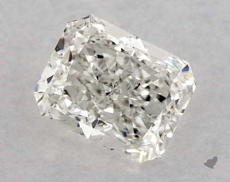 1.00 Carat G-SI1 Radiant Cut Diamond