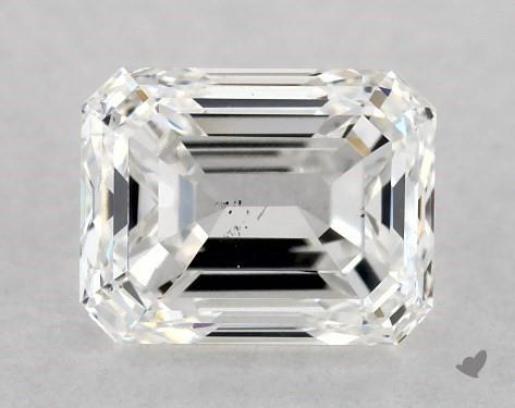 1.00 Carat E-SI1 Emerald Cut Diamond