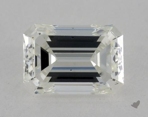 0.97 Carat H-VS2 Emerald Cut Diamond