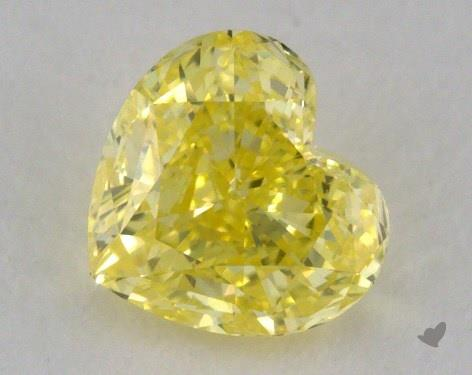 0.66 Carat  yellow-VVS2 NA Cut Diamond