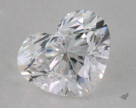 0.51 Carat D-VVS1 Heart Shape Diamond