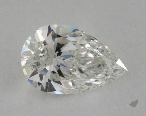 2.08 Carat G-SI1 Pear Shape Diamond