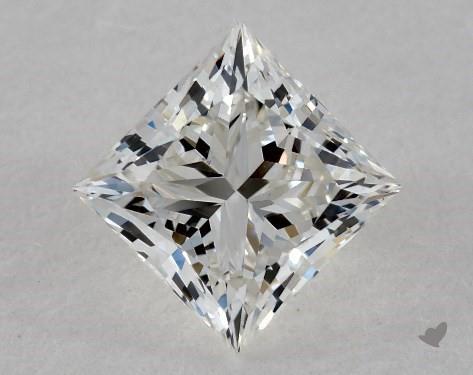 0.82 Carat H-VS1 Ideal Cut Princess Diamond