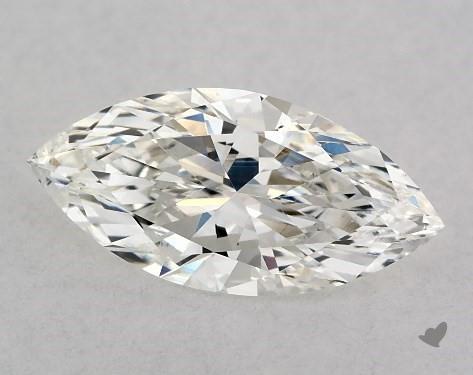 1.02 Carat H-VS2 Marquise Cut Diamond