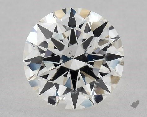 1.02 Carat G-SI1 Excellent Cut Round Diamond