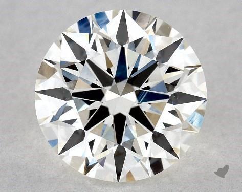1.26 Carat H-VS1 Excellent Cut Round Diamond
