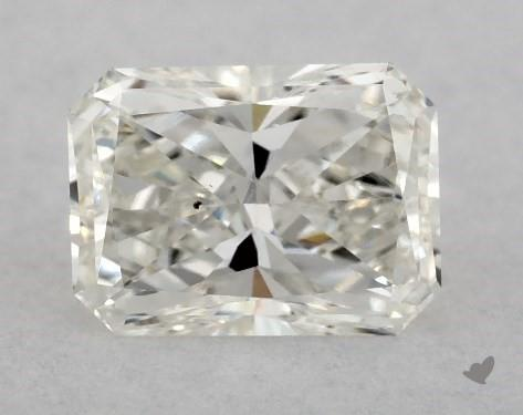 1.08 Carat H-SI1 Radiant Cut Diamond