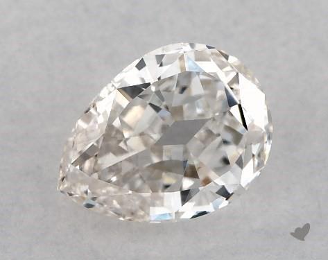 1.02 Carat H-VS1 Pear Shape Diamond