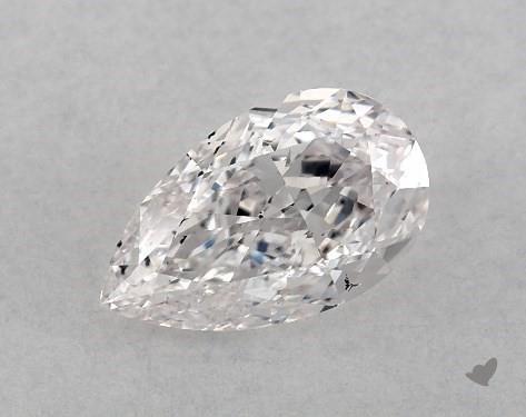 1.01 Carat F-SI1 Pear Shape Diamond
