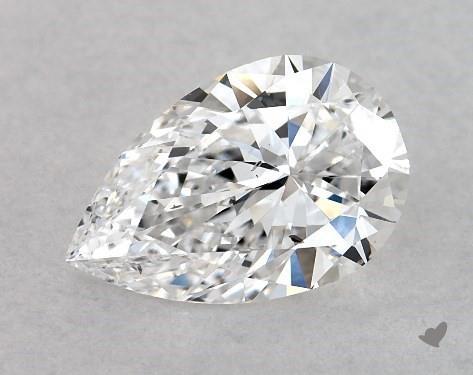1.03 Carat D-SI1 Pear Shape Diamond