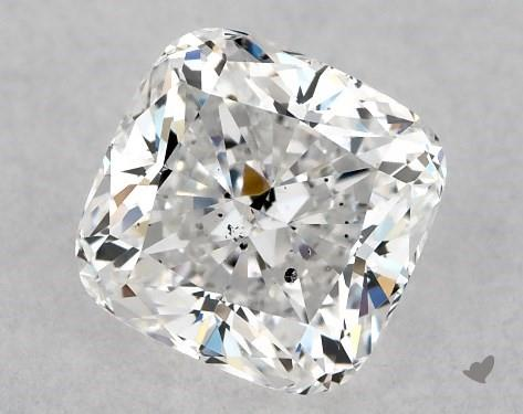 1.01 Carat E-SI1 Cushion Modified Cut Diamond
