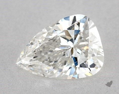 1.14 Carat G-SI1 Pear Shape Diamond