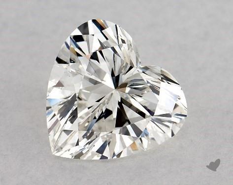 1.01 Carat H-SI1 Heart Shape Diamond