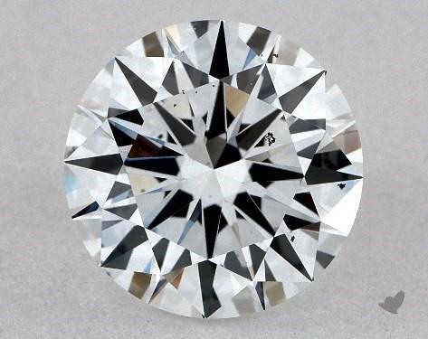 Lab-Created 1.05 Carat H-VS2 Excellent Cut Round Diamond