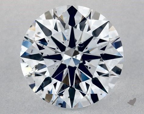 Lab-Created 1.18 Carat G-SI1 Ideal Cut Round Diamond