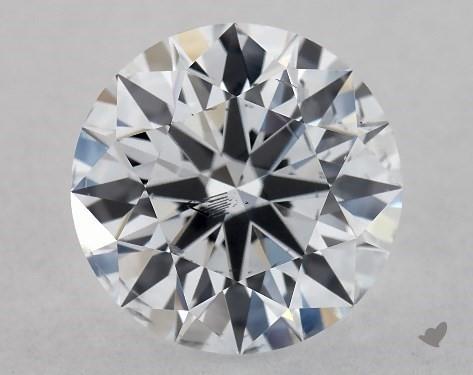 Lab-Created 1.11 Carat G-SI1 Excellent Cut Round Diamond
