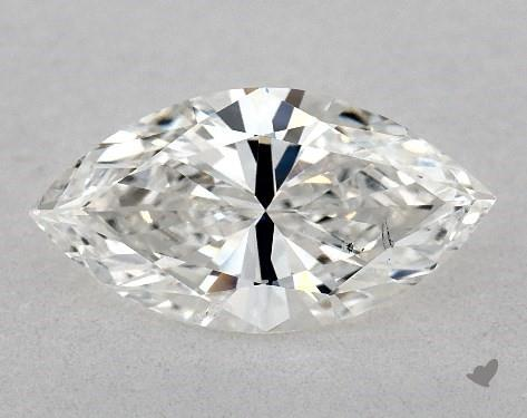 1.07 Carat G-SI1 Marquise Cut Diamond