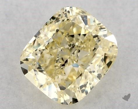 1.50 Carat Cushion Modified Diamond by James Allen