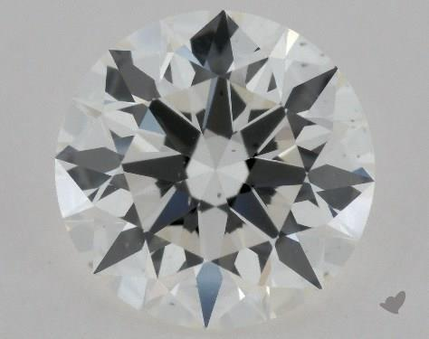 1.09 Carat H-VS2 Excellent Cut Round Diamond