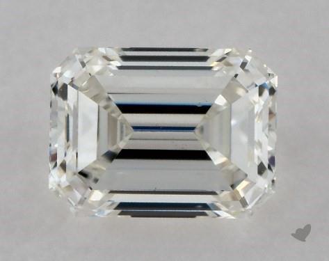 0.70 Carat I-VS2 Emerald Cut Diamond