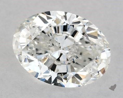 1.01 Carat F-SI1 Oval Cut Diamond