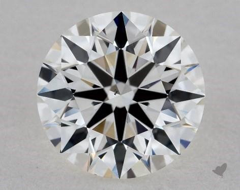 1.01 Carat H-VS2 True Hearts<sup>TM</sup> Ideal Diamond