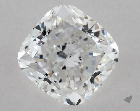 1.01 Carat D-SI1 Cushion Modified Cut Diamond