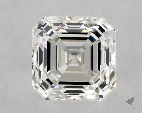 1.01 Carat H-SI1 Square Emerald Cut Diamond