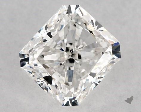 1.02 Carat G-SI1 Radiant Cut Diamond