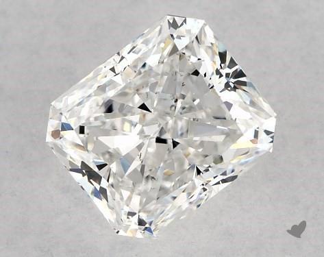 1.01 Carat E-SI1 Radiant Cut Diamond