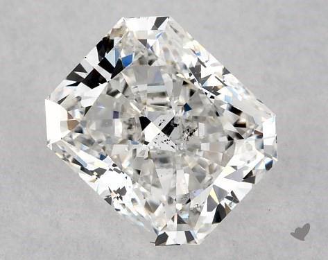 1.01 Carat F-SI1 Radiant Cut Diamond