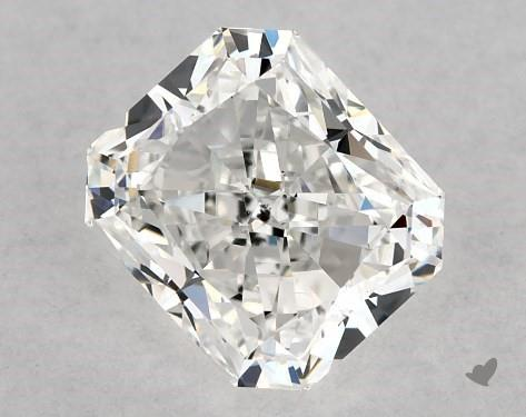 1.01 Carat F-SI1 Radiant Cut Diamond