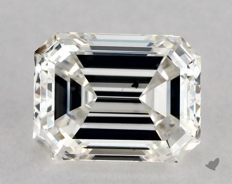 1.04 Carat H-SI1 Emerald Cut Diamond
