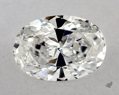 Lab-Created 1.57 Carat G-VVS2 Oval Cut Diamond