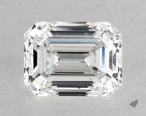 1.00 Carat D-SI1 Emerald Cut Diamond