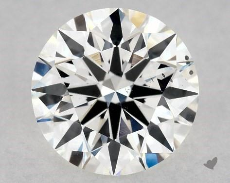 1.06 Carat H-SI1 True Hearts<sup>TM</sup> Ideal Diamond