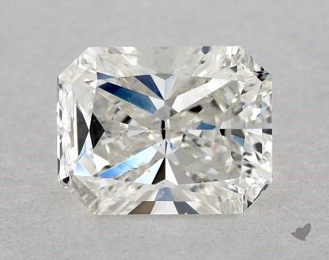 1.00 Carat H-VS2 Radiant Cut Diamond