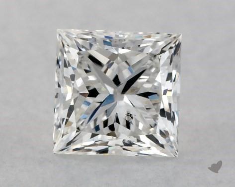 1.01 Carat F-SI1 Ideal Cut Princess Diamond