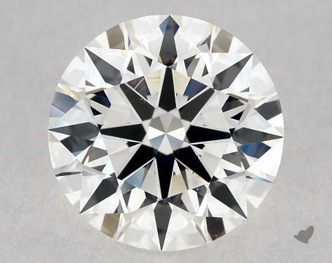1.23 Carat H-VS1 True Hearts<sup>TM</sup> Ideal Diamond