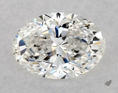1.03 Carat F-SI1 Oval Cut Diamond