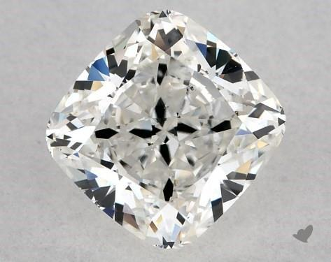 1.02 Carat H-SI1 Cushion Modified Cut Diamond